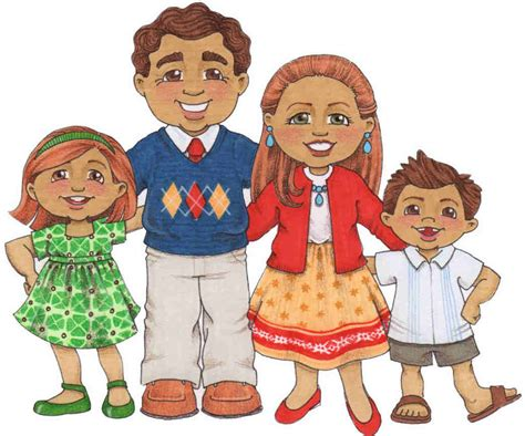 clipart famiglia dibujos familia ilustraciones infantiles susan fitch y
