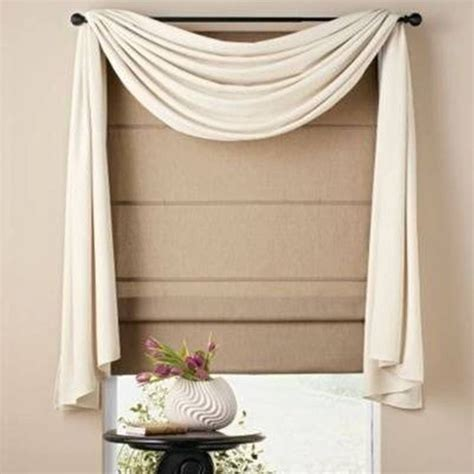 curtain scarf hanging ideas home design and decor pretty window scarf ideas white