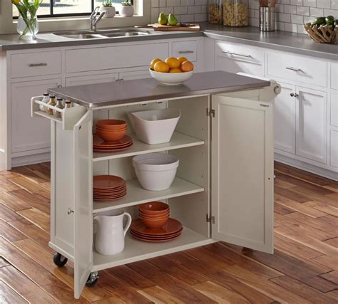 Small Kitchen Carts And Islands Small Kitchen Island With Stainless Steel Top Stainless Norma Budden