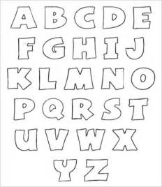 free alphabet template free printable alphabet letter 9 free pdf jpeg format