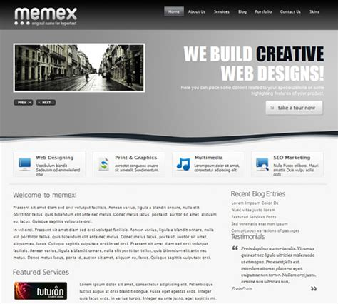wordpress templates for it business 65 awesome free wordpress themes for business websites