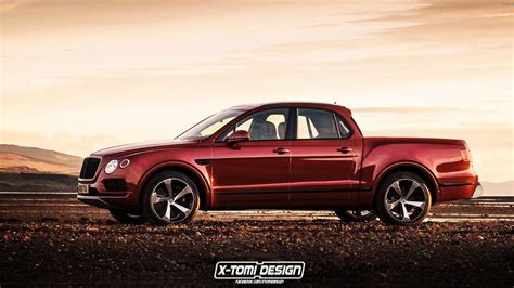 bentley bentayga truck bentley bentayga rendered as the forbidden luxury