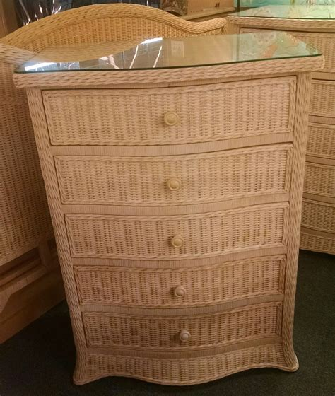 Wicker Chest Of Drawers Furniture by Wicker Chest Of Drawers Delmarva Furniture Consignment