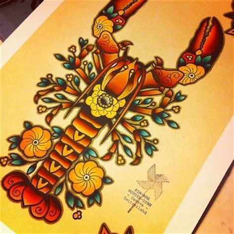 lobster tattoo designs lobster tattoos are