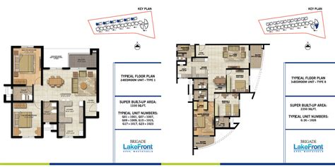 lakefront floor plans brigade lakefront in whitefield bangalore apartments in brigade lakefront by brigade
