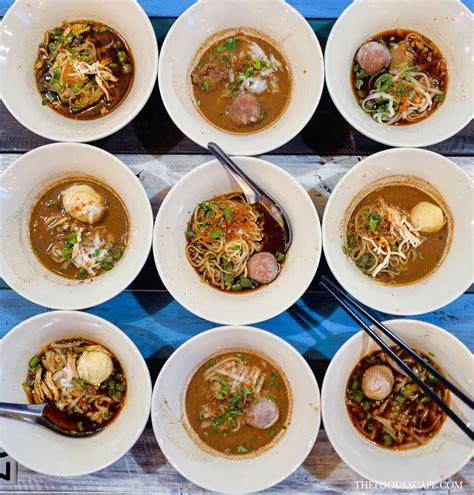 boat noodle menu boat noodle gandaria city jakarta food escape