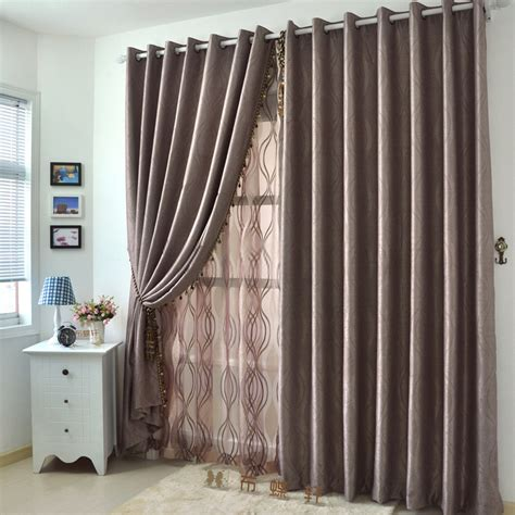 two color curtain panels 2 panels big window curtains present in coffee color