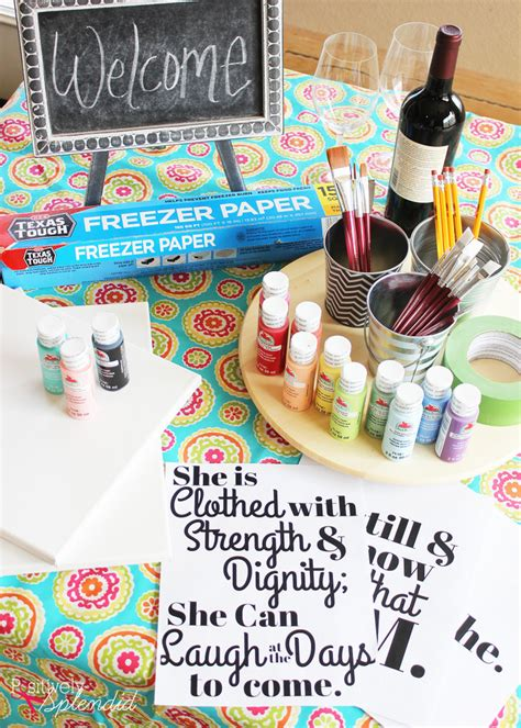 paint nite diy diy lettered canvas sign and at home painting tips