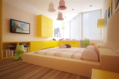 Colorful Kids Rooms Child Bedroom Interior Design
