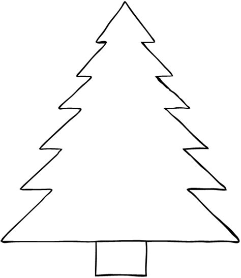 christmas tree stencil printable tree stencil free coloring home