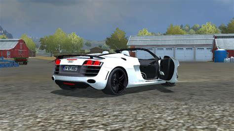 FS 2013: Audi R8 Spider v 2.0 MR Cars Mod für Farming Simulator 2013