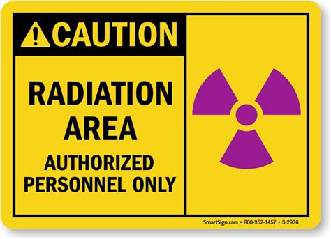 printable x ray radiation sign radiation area authorized personnel sign sku s 2936