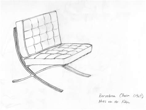 those famous chairs please sketch