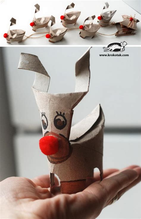 Crafts Made Out Of Toilet Paper Rolls - reindeer craft search results calendar 2015