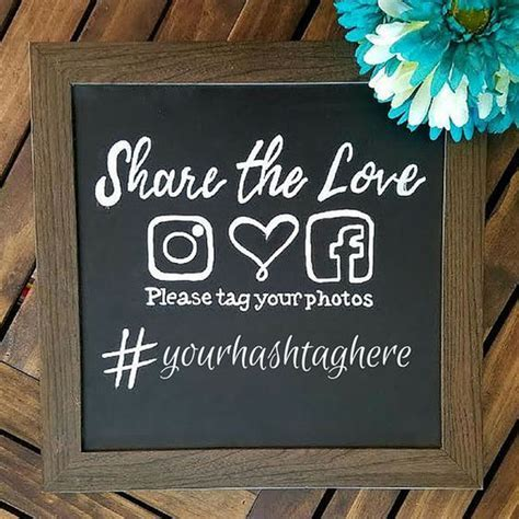 How To Make Your Own Unique Wedding Hashtag!   Mollymook