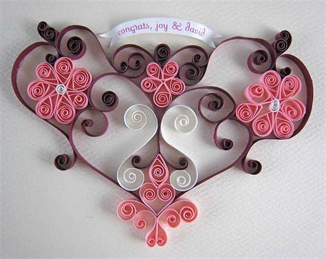 Paper Quilling Craft Ideas - non dimensional quilling flat on quilling