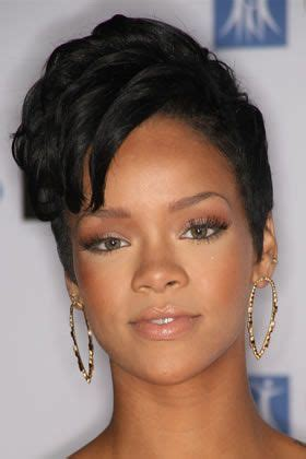 short weave hairstyles for rihanna and haille berry 13 best short famous hairstyles especially among black