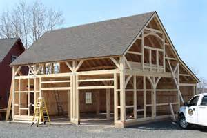 Pole Barn Kits Building Packages building process post and beam barns the barn yard