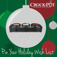 Holiday Entertaining Sweepstakes - crock pot wish list on pinterest holiday wishes crockpot and holiday