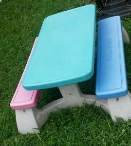 fisher price picnic table fisher price picnic table child size local pik up at