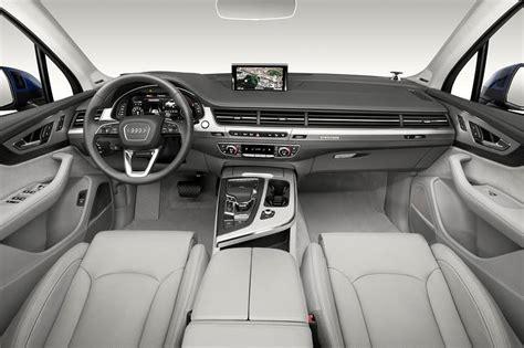 Best Suv Interior Design by Audi S Q7 Suv A Weighty Analysis Of Design Wsj
