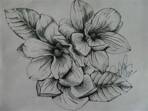 magnolia flower tattoo 20 black and white magnolia tattoos