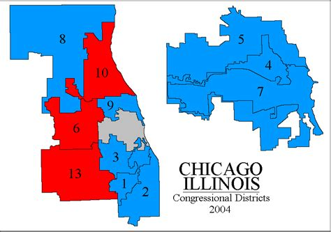 chicago voting district map rangevoting org gerrymandering and a cure shortest