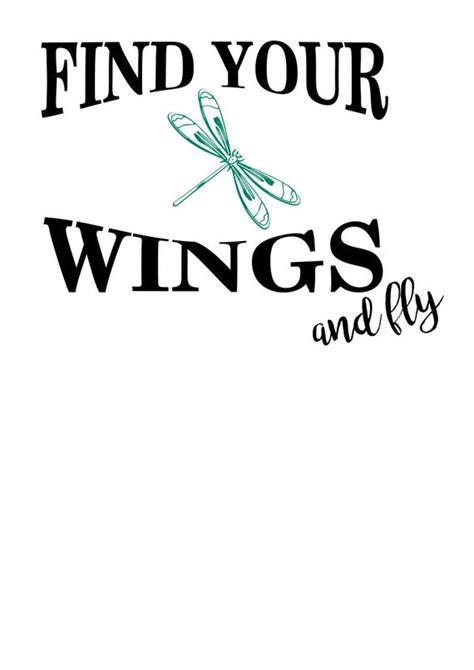 find  wings dragonfly svg file quote cut file