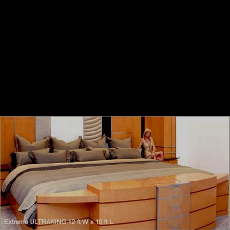 Ultra King Bed Ultra King Size Bed Who Wouldn T Want A Bed Like This
