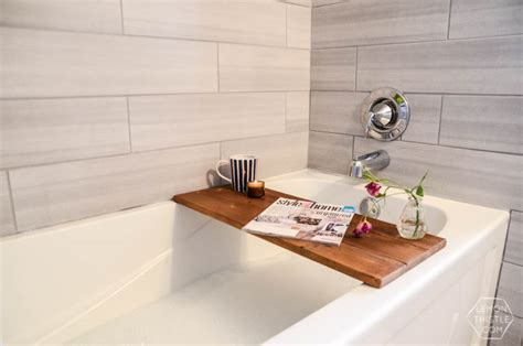 wooden bathtub caddy diy wooden bath caddy lemon thistle