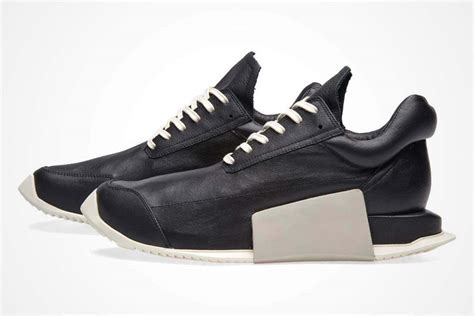 adidas rick owens rick owens x adidas level runner boost sneaker freaker