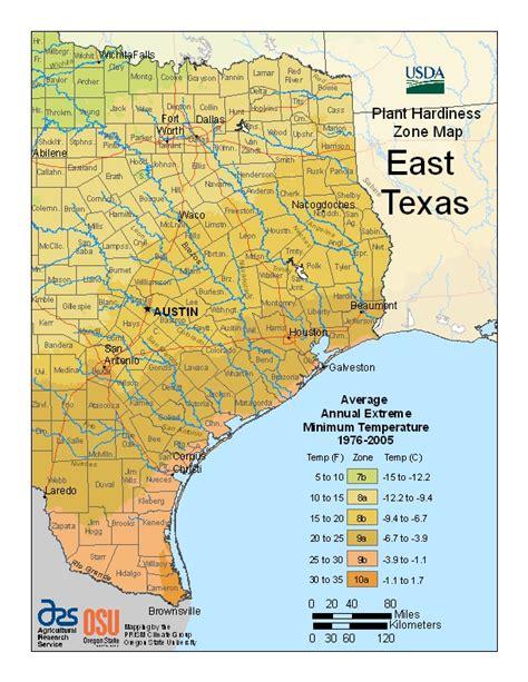 texas zones map usda plant hardiness zones change