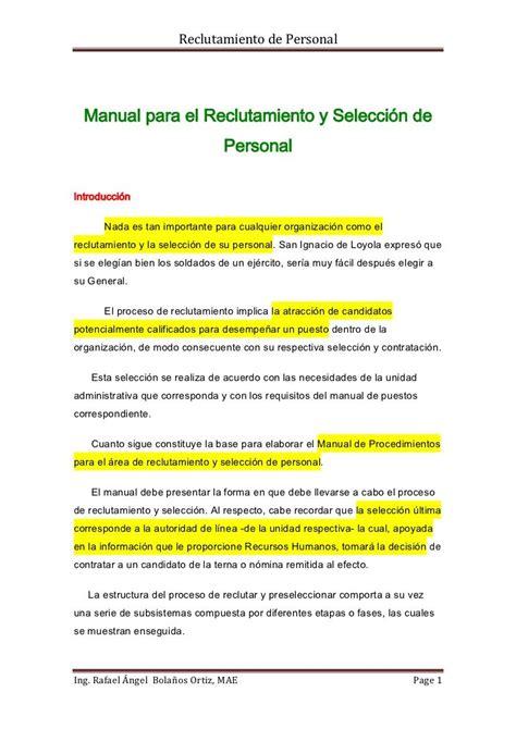 mail interno it manual de personal explicaci 243 n de c 243 mo es el proceso de