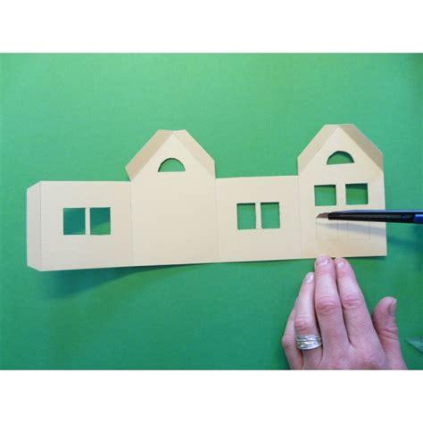 Haus Basteln by Ein Sch 246 Nes Kleines Haus Basteln Basteln Mit Spa 223
