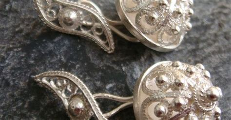 Handcrafted Silver Jewellery Australia - handmade silver filigree cufflinks worth getting