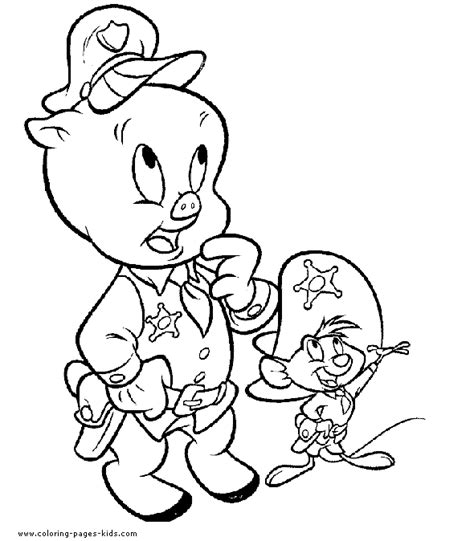 Looney Tunes Characters Coloring Pages looney tunes characters color page color pages