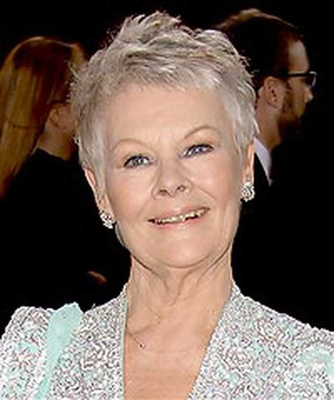 judith dench haircut judi dench hairstyle