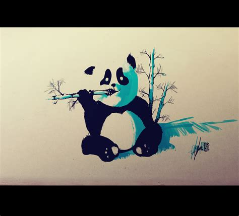 panda flash tattoo by remiismeltingdots on deviantart