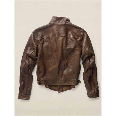 Leather Jaket Edition 102 rrl limited edition leather jacket in brown for lyst