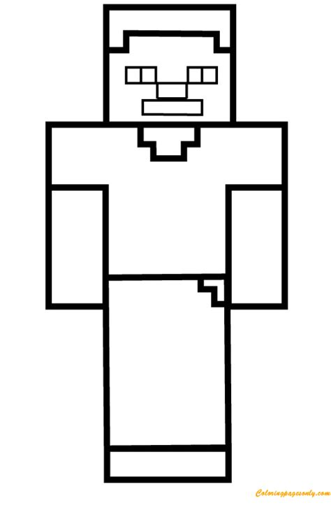 enderman coloring page  coloring pages