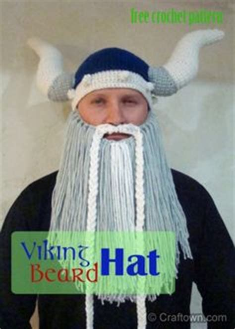 knit viking hat with beard pattern 1000 images about crochet viking warrior