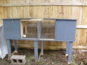 Cheap Indoor Rabbit Hutch Building A Rabbit Hutch Notes From A Country Living