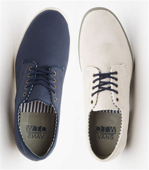 the most formal looking vans shoe is back