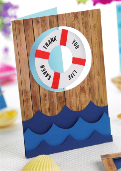nautical craft projects nautical greetings free craft project card