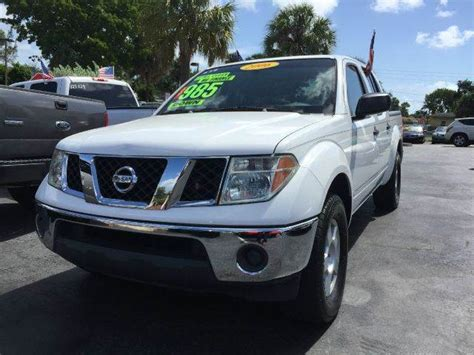 nissan frontier 2006 for sale 2006 nissan frontier for sale in plantation fl