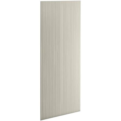 bathroom wall panels lowes choreograph veincut sandbar shower wall surround side and