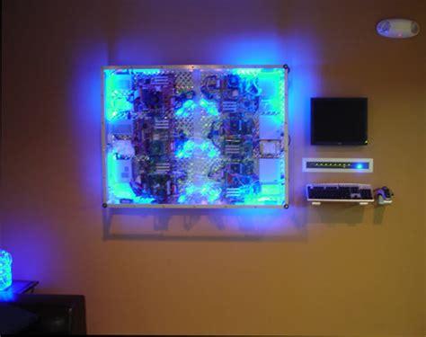 wall mounted  pc custom render farm slashgear