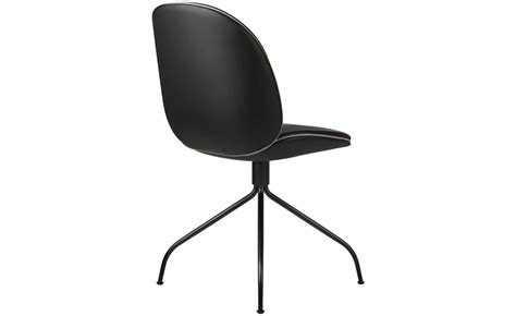 Beetle Upholstered Dining Chair With Swivel Base Swivel Chair Bases
