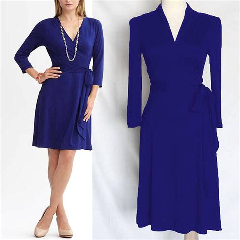 Gemima Dress X S M L nwot banana republic mystic blue gemma wrap dress xs s m