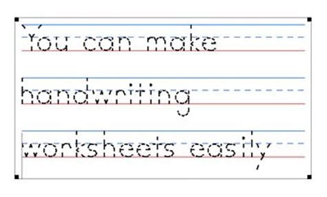 Make Your Own Tracing Paper - tracing worksheet generator worksheets releaseboard free
